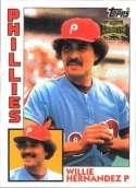 2002 Topps Archives #85 Willie Hernandez 84 NM