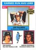 2002 Topps Archives #195 Jim Palmer/Jim Hunter/Dennis Eckersley NM