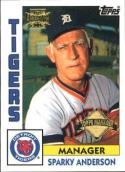 2002 Topps Archives #176 Sparky Anderson 84/ MG NM