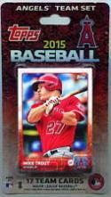 2015 Anaheim Angels Topps Factory Sealed Baseball 17 Card Team Set