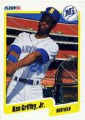 1990 Fleer #513 Ken Griffey Jr. Mariners