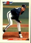 1992 Bowman #601 Darryl Kile Houston Astros Baseball Card