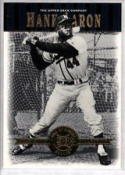 2001 Upper Deck Hall of Famers #2 Hank Aaron NM