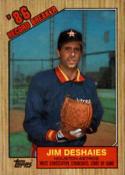 1987 Topps #2 Jim Deshaies Astros RB