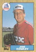 1987 Topps #27 Joe Cowley White Sox