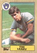 1987 Topps #32 Tim Leary Brewers