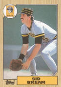 1987 Topps #35 Sid Bream Pirates