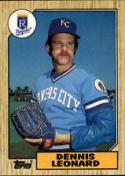 1987 Topps #38 Dennis Leonard Royals