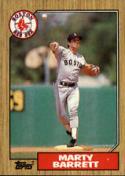 1987 Topps #39 Marty Barrett Red Sox