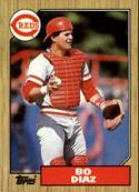 1987 Topps #41 Bo Diaz Reds