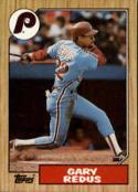 1987 Topps #42 Gary Redus Phillies