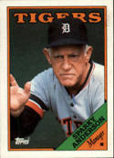1988 Topps #14 Sparky Anderson Tigers MG