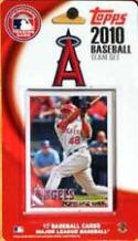 2010 Topps Factory Sealed Los Angeles Angels Of Anaheim 17 Card Team Set