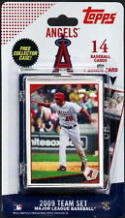 2009 Anaheim Angels Topps Factory Sealed Baseball 15 Card Team Set
