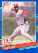 Lee Smith 1991 Donruss Baseball Card 169 (St. Louis Cardinals)