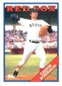 1988 Topps #599 Calvin Schiraldi Red Sox