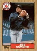 1987 Topps #451 Joe Sambito Red Sox