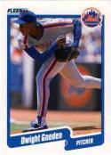 1990 Fleer #204 Dwight Gooden Mets