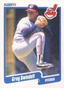 1990 Fleer #503 Greg Swindell Indians