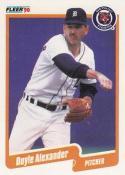 1990 Fleer #599 Doyle Alexander Tigers