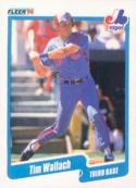1990 Fleer #364 Tim Wallach Expos