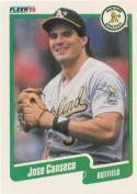 1990 Fleer #3 Jose Canseco Athletics