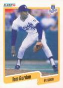 1990 Fleer #108 Tom Gordon Royals