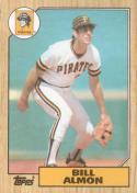 1987 Topps #447 Bill Almon Pirates