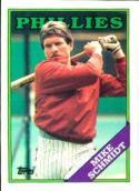 1988 Topps #600 Mike Schmidt Phillies