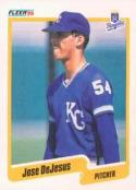 1990 Fleer #104 Jose DeJesus Royals