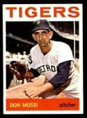 1964 Topps #335 Don Mossi NM-MT Tigers UER