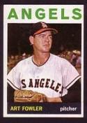 1964 Topps #349 Art Fowler NM-MT Angels