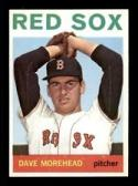 1964 Topps #376 Dave Morehead NM Near Mint Red Sox