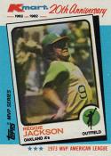 1982 K-Mart #23 - Reggie Jackson: 73AL