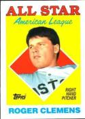 1988 Topps #394 Roger Clemens Red Sox AS