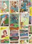 40 Different Philadelphia Phillies Baseball Cards from 1980-1989 - Shipped in Protective Display Album!