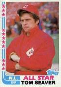 1982 Topps #346c Tom Seaver EX/NM Reds COR AS