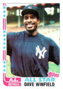 1982 Topps #553 Dave Winfield EX/NM Yankees AS