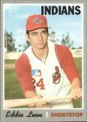 1970 Topps #292 Eddie Leon Excellent + RC Rookie