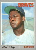 1970 Topps #327 Hal King Excellent + RC Rookie