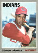 1970 Topps #27 Chuck Hinton Excellent +