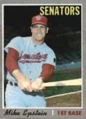 1970 Topps #235 Mike Epstein Excellent +