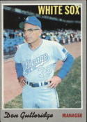1970 Topps #123 Don Gutteridge MG/ Excellent + RC Rookie