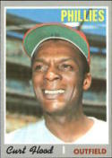 1970 Topps #360 Curt Flood Excellent +