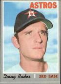 1970 Topps #355 Doug Rader Excellent +
