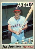 1970 Topps #485 Jay Johnstone Excellent +