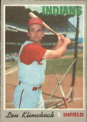 1970 Topps #247 Lou Klimchock Excellent +