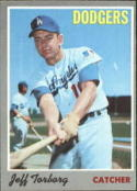 1970 Topps #54 Jeff Torborg Excellent +