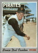 1970 Topps #52 Bruce Dal Canton Excellent +