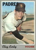 1970 Topps #79 Clay Kirby Excellent +